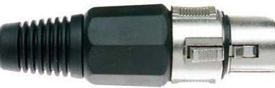 STAGG 925 - wtyk XLR żeński - canon