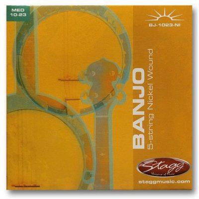 Stagg BJ 1023 NI - struny do banjo pięciostrunowego
