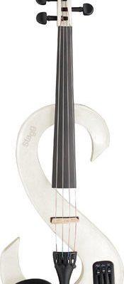 Stagg EVN X 4/4 WH - skrzypce elektryczne 4/4