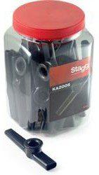 Stagg Kazoo plastikowe czarne