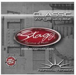 Stagg SCLNT struny do gitary klasycznej