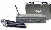 Stagg SUW 50 MM EG EU bezprzewodowy system UHF podwójny doręczny