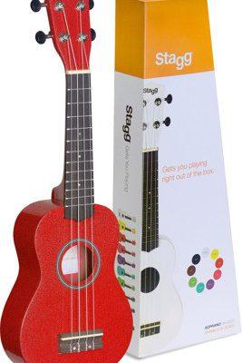 Stagg US-RED - Ukulele sopranowe 49701