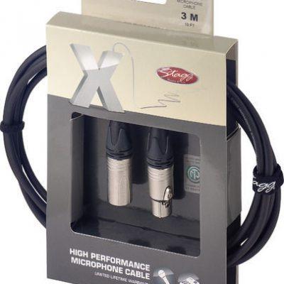 STAGG XMC3XX - kabel mikrofonowy 3m