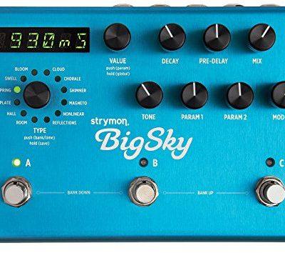 Strymon strymon Big Sky Reverb erator  Efekt urządzeniu gitara elektryczna Big Sky Hall Reverbs