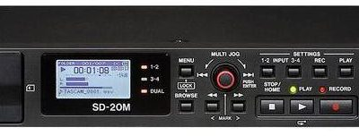 Tascam Rejestrator audio stacjonarny SD-20M
