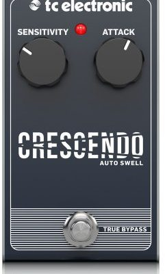 TC electronic Crescendo Auto Swell - Efekt typu auto swell