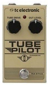 TC Electronic Tube Pilot Overdrive Efekt typu Overdrive TUBE PILOT OVERDRIVE