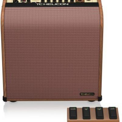 TC Electronics TC Helicon HARMONY V60 - wzmacniacz do instrumentów akustycznych z procesorem wokalnym