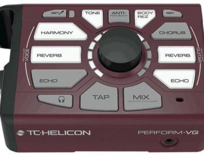 TC Helicon Perform-VG - procesor do wokalu i gitary akustycznej