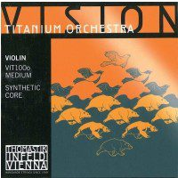 Thomastik 634249) Vision Titanium Orchestra VIT100o struny skrzypcowe 4/4