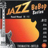 Thomastik BB111 676807) Struny do gitary elektrycznej Jazz BeBop Series Nickel Round Wound Komplet