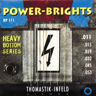 Thomastik Power Brights RP111 struny do git elektrycznej 11-53