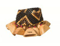 Toca TO804804) Sound effects Wooden pod rattle for ankle
