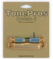 TonePros T1Z-G Tailpiece części mostka do gitary złote