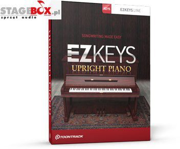 Toontrack Toontrack EZkeys Upright Piano TN EZKEYS UPRIGHT PI