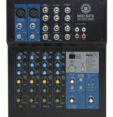Topp Pro Topp Pro TP MXI6FX - mikser analogowy