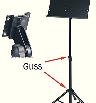 Unbekannt orkiestry BSX Curlpult (wysokość 68x 118cm, blat Curlpult 48,5x 34cm) Czarny 900752