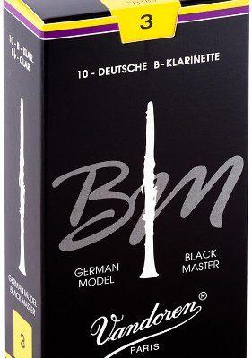 VANDOREN vandoren CR183Black Master, kartki na klarnet, austriacki system system (grubość 3, 10sztuk) CR183