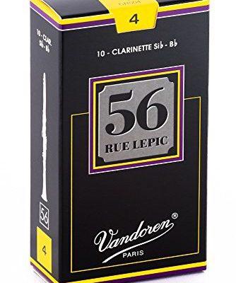 VANDOREN vandoren cr50456Rue lepic, liście na klarnet (grubość 4BB, 10sztuk) CR504