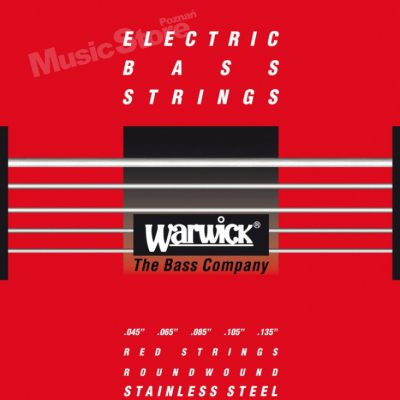 Warwick RED Strings Stainless Stee .045-.135