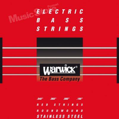 Warwick RED Strings Stainless Steel.040-.100