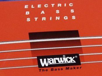 Warwick struny do gitary basowej Red Nickel 46200
