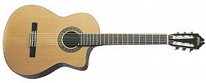 Washburn C 64 SCE (N), gitara klasyczna C 64 SCE (N)