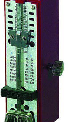 Wittner wittner taktell Super Mini metronom obudowa z tworzywa sztucznego bez dzwon rubinowy 884R