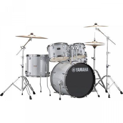 Yamaha Rydeen RDP0F5SLG Silver Glitter perkusja zestaw + hardware HW680