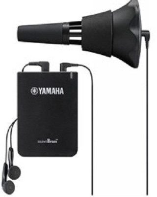 Yamaha SB 7X Silent Brass trąbki, elektroniczny uebungsdaempfer z słuchawka BA39579X