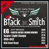 Blacksmith Smith 9-42 czarne struny do gitary elektrycznej 9-42 Coated