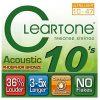 Cleartone cleartone fosforu z brązu Acoustic Guitar Strings CL7410