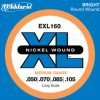 DAddario EXL160 struny do gitary basowej 50-105 DADEXL160SGB
