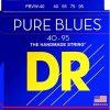 DR PBVW-40 Pure Blues okrągły rdzeń basowy 4-struny 40-95 PBVW-40