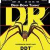 DR Strings ddt-45 - drop tuning - Bass String Set, 4-String, Medium, .045-.105