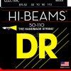 DR Strings er-50hi-beam - Bass String Set, 4-String, Heavy, .050-.110
