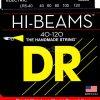 DR Strings Hi-beam - lr5-40 - Bass String Set, 5-String, Light, .040-.120