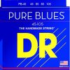 DR Strings PB-45 Pure Blues struny do gitary basowej, diapason długi PB-45