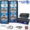 Electronic-Star Blue Star Series Bassveteran