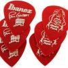 Ibanez B1000PG-CA - kostka gitarowa do gry, Paul Gilbert czerwone 6
