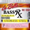 LaBella RX-S5D 45-130 stalowe struny do basu 5 strunowego
